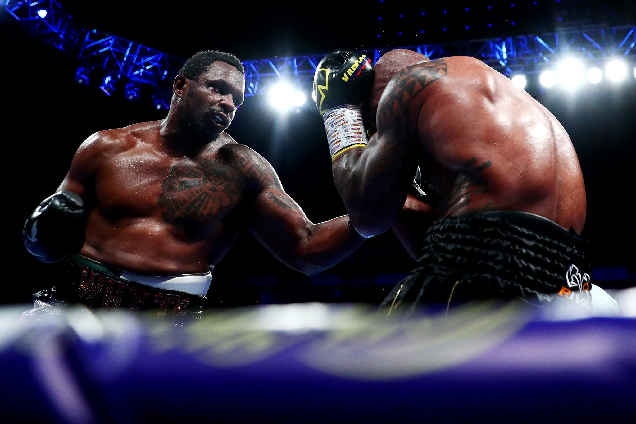 WBC provisionally suspends Whyte's position as interim heavyweight champion after positive test