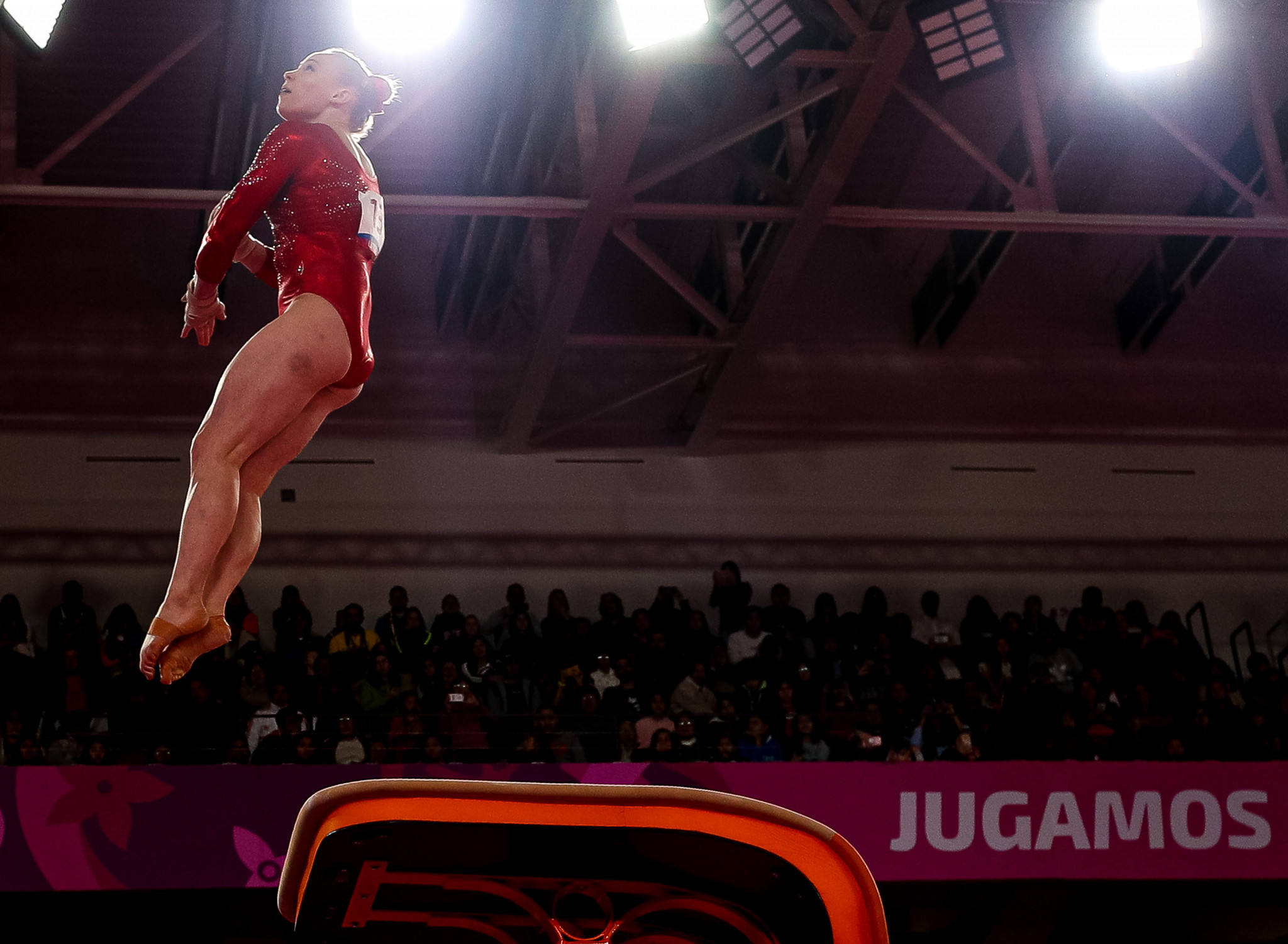 Canada's Ellie Black added the vault title to her all-around gold ©Getty Images