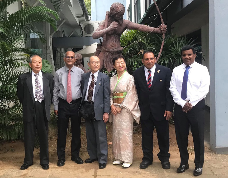 The National Olympic Committee of Sri Lanka has welcomed a delegation from Hashima City to its Olympic House headquarters to formulate plans for the country's team's training camp in Japan prior to Tokyo 2020 ©NOCSL/Facebook