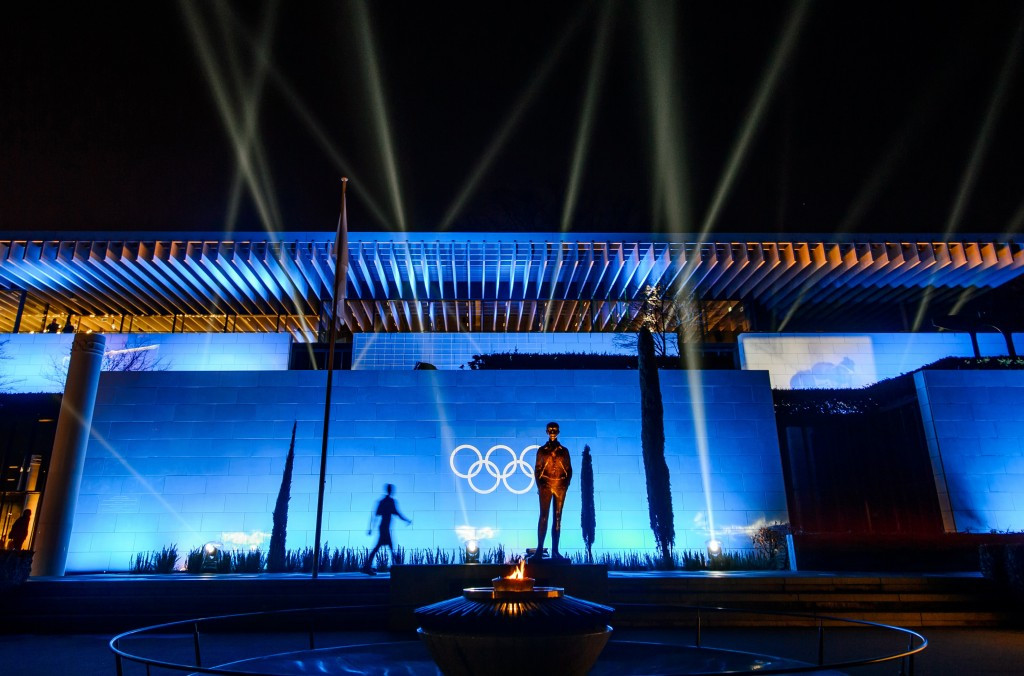 Olympic Museum to go blue to celebrate UN Day