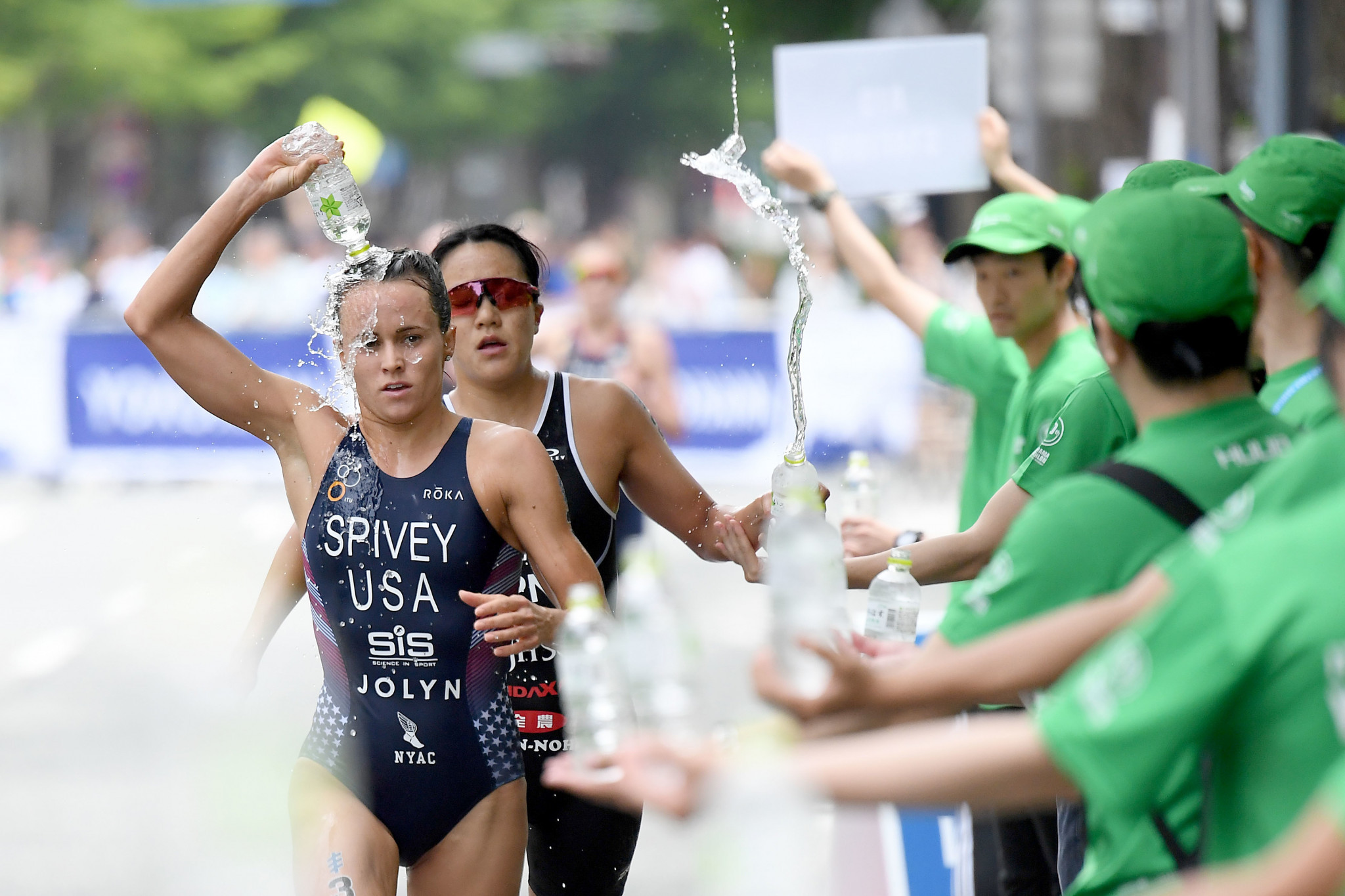 A series of measures designed to help protect athletes from the heat and humidity will be in place at the World Olympic Qualification event in Tokyo this month ©ITU