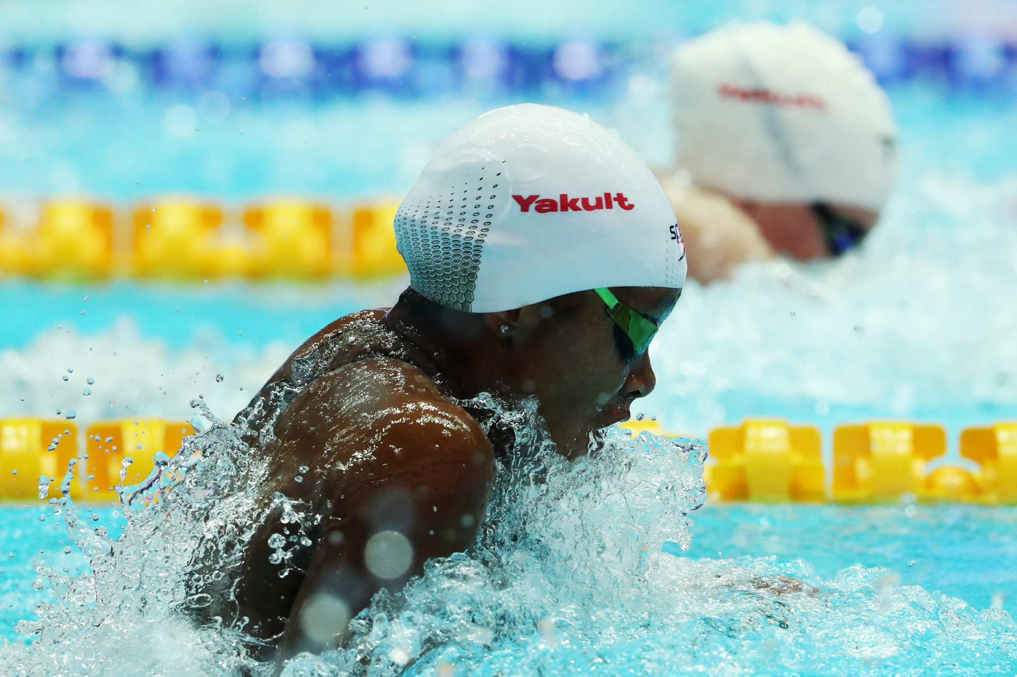 Jamaica's Alia Atkinson is among the leading swimmers set to be in action at the FINA World Cup in Tokyo ©Getty Images