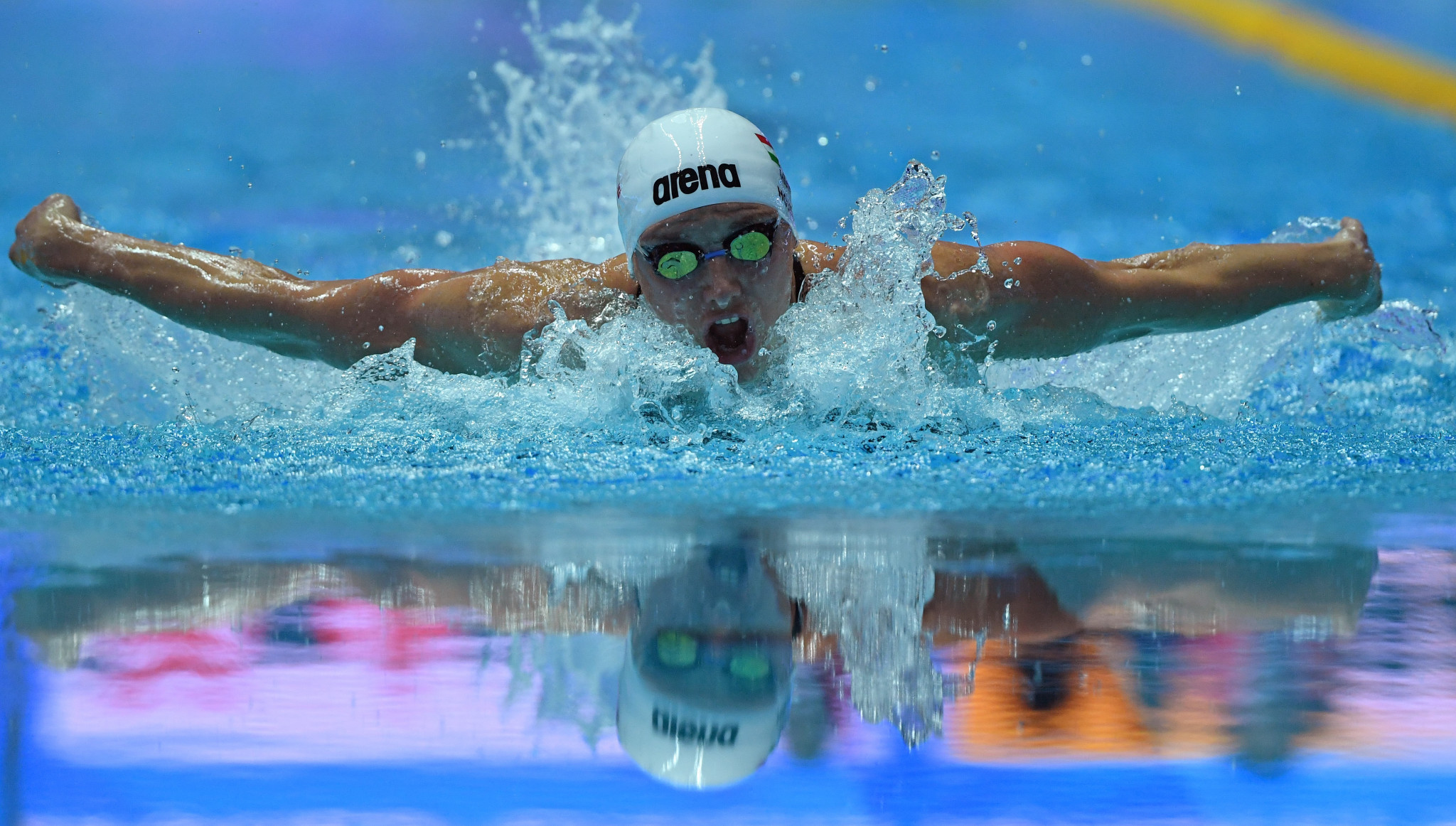 Hungary's Katinka Hosszú will be competing in Japan's capital on the back of winning two gold medals at the World Aquatics Championships in Gwangju ©Getty Images