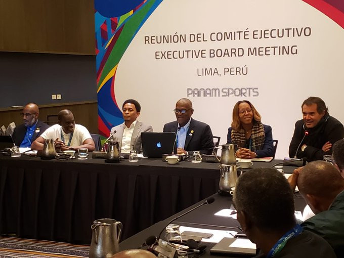 Panam Sports President Neven Ilic was present at the CANOC meeting ©CANOC