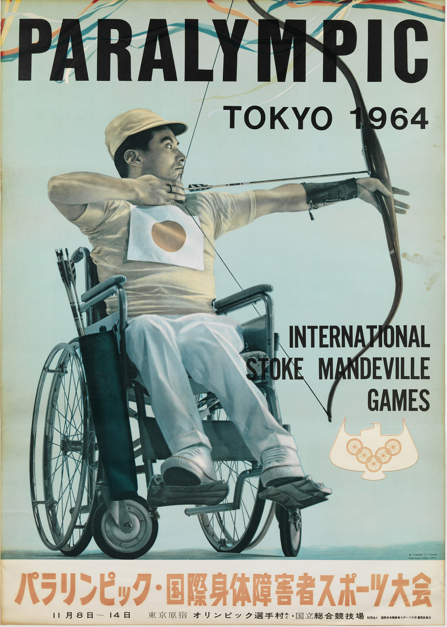 Tokyo 1964 is now known as the second Paralympic Games but at the time were called the