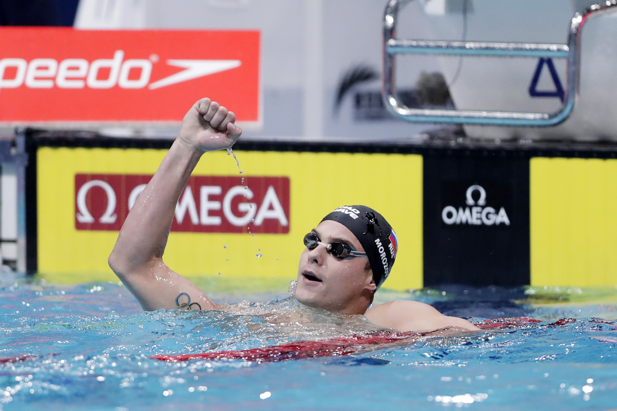 Morozov doubles up to complete FINA World Cup hat-trick in Tokyo