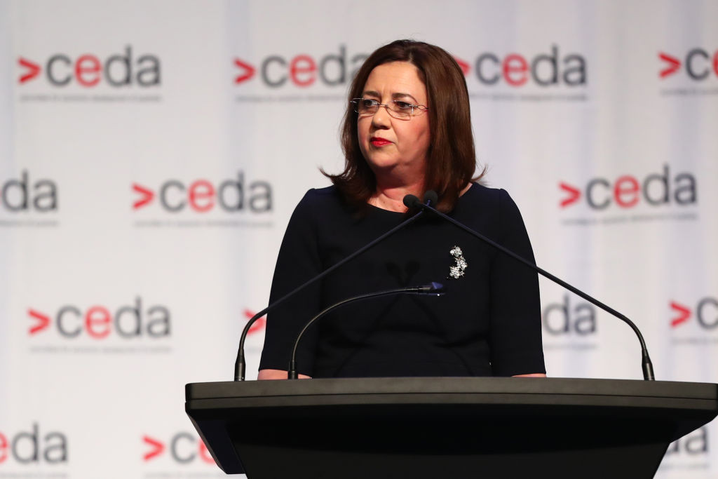 Queensland Premier Annastacia Palaszczuk is set to meet IOC President Thomas Bach in Lausanne next month ©Getty Images