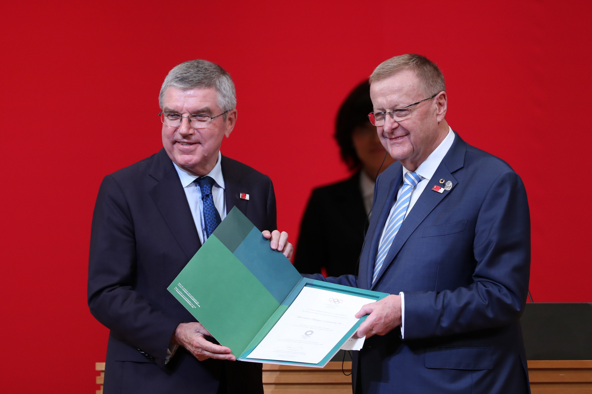IOC President Thomas Bach has consistently praised Queensland's potential bid ©Getty Images