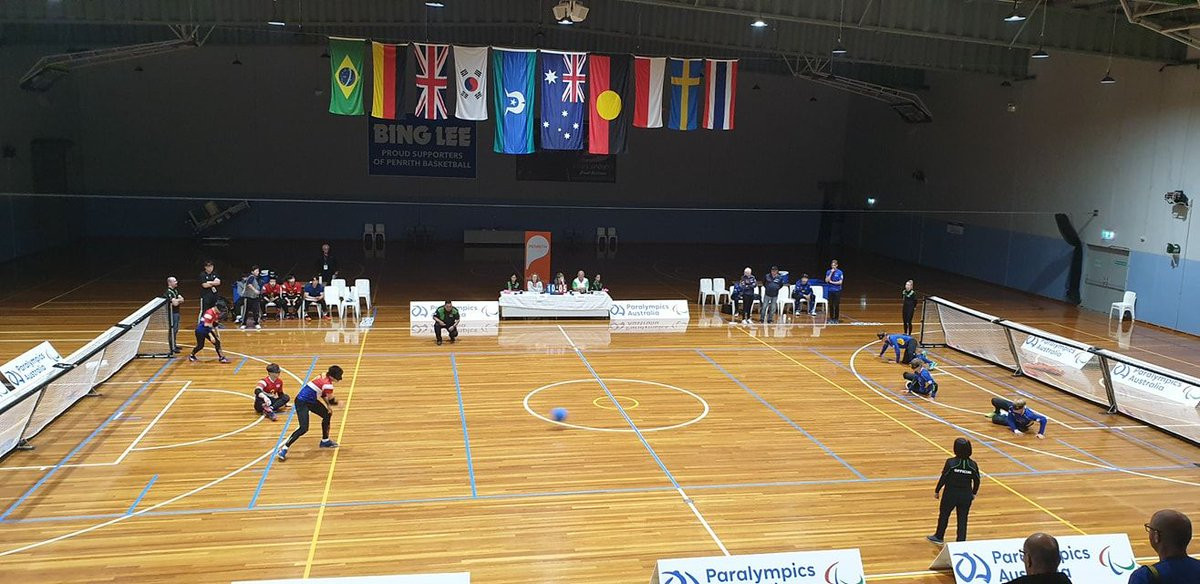Sweden make perfect start to boys' event at IBSA Goalball Youth World Championships