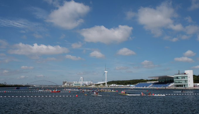 The World Junior Championships are doubling as the test event for Tokyo 2020 ©World Rowing/Twitter