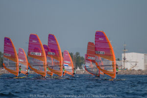 Consistency puts Zror and Pianazza in front after day two of RS:X Windsurfing Youth World Championship