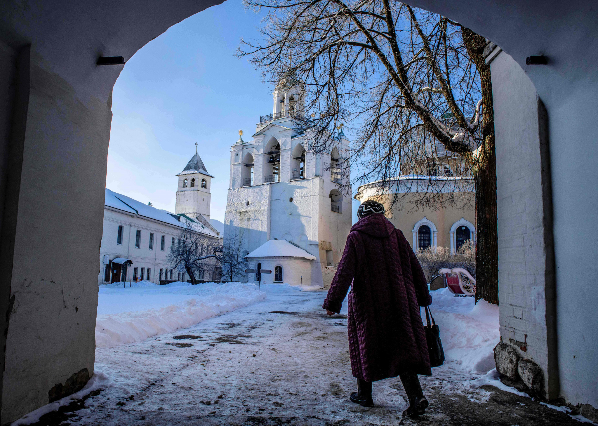 Yaroslavl, northeast of Moscow, boasts three Russian Olympic players in the squad of local team Yaroslavich ©Getty Images
