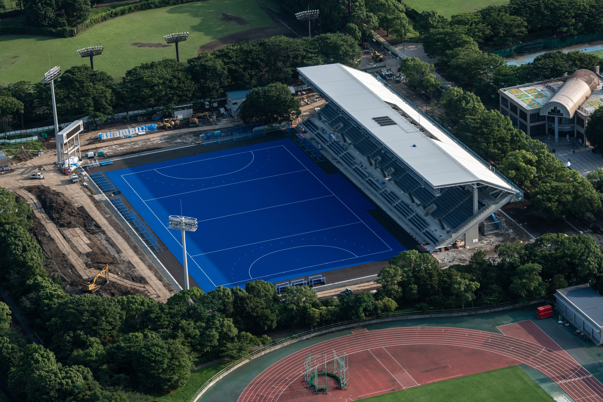 Nations and schedules confirmed for Tokyo 2020 Olympic hockey test event
