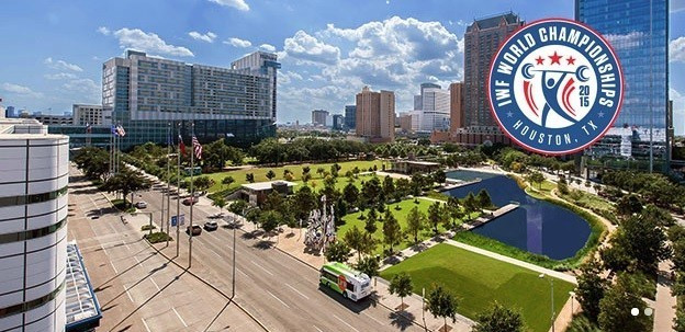The World Weightlifting Championships in Houston will be the first to be held in America for 40 years
