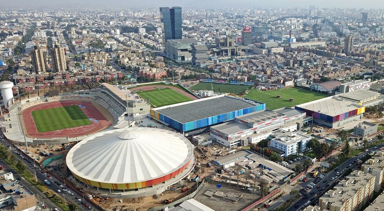 Hosting the Pan American Games has given Peru world-class sporting facilities, which will be used to develop athletes ©Lima 2019
