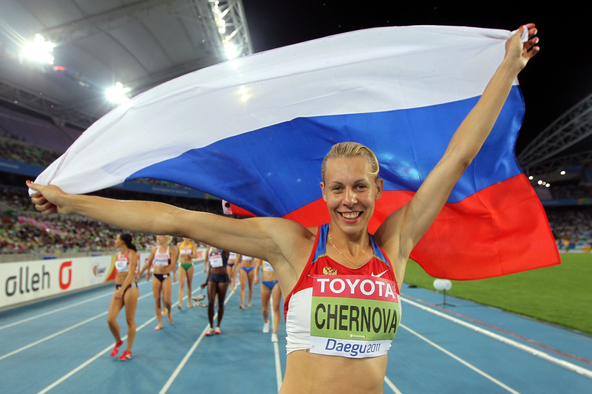 Tatyana Chernova had numerous results disqualified for doping offences ©Getty Images