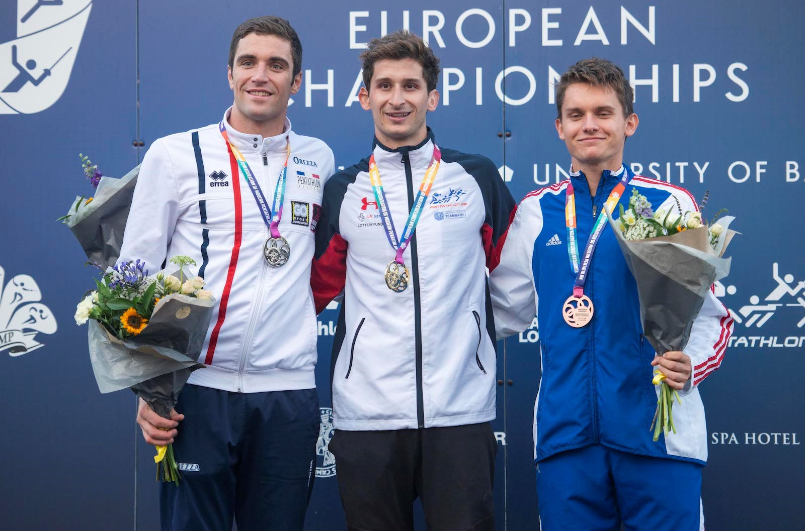Cooke beat reigning champion Valentin Prades of France into second, while Martin Vlach was third ©Clare Green