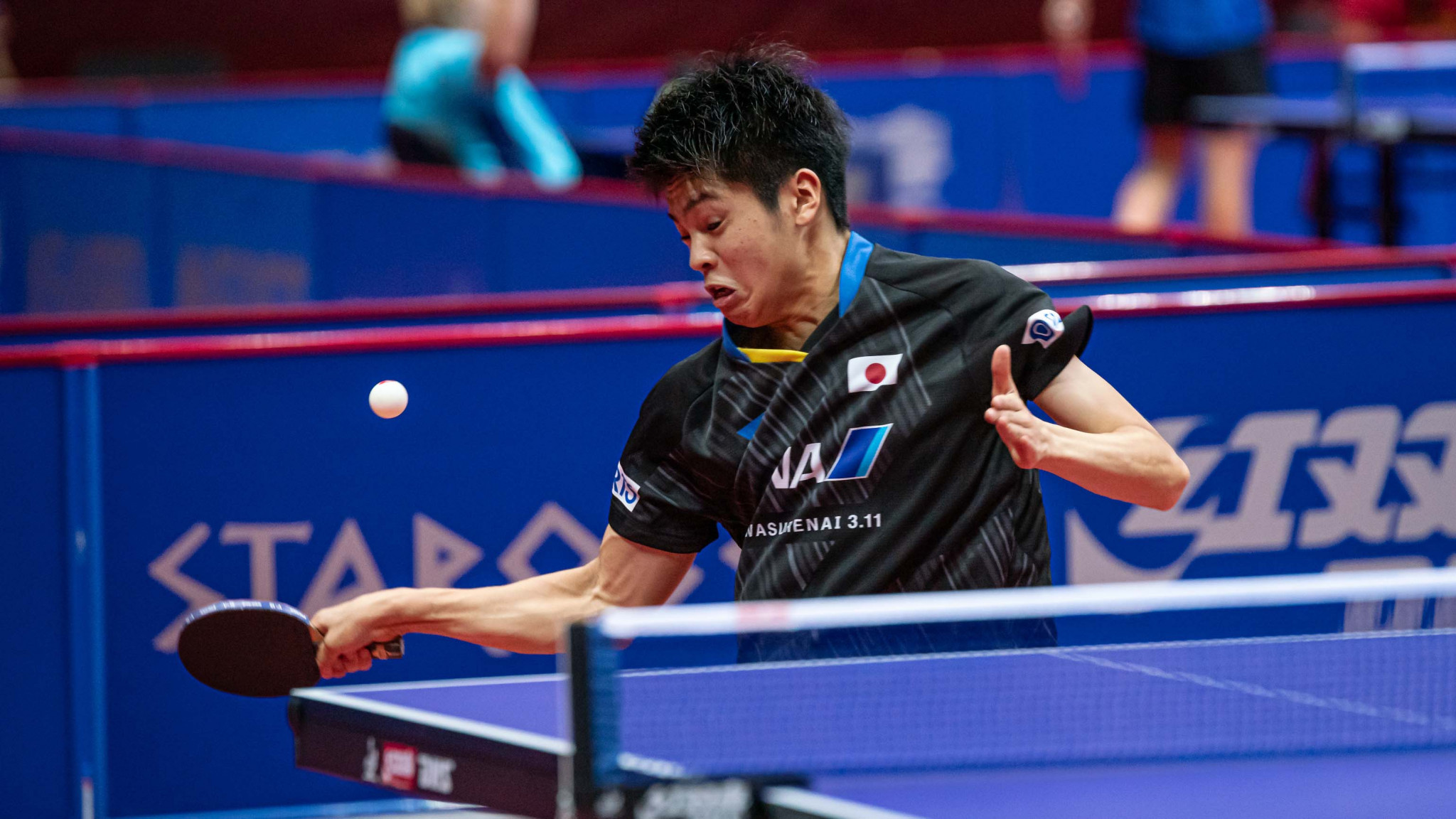 Seeds scattered in first round of ITTF Bulgaria Open