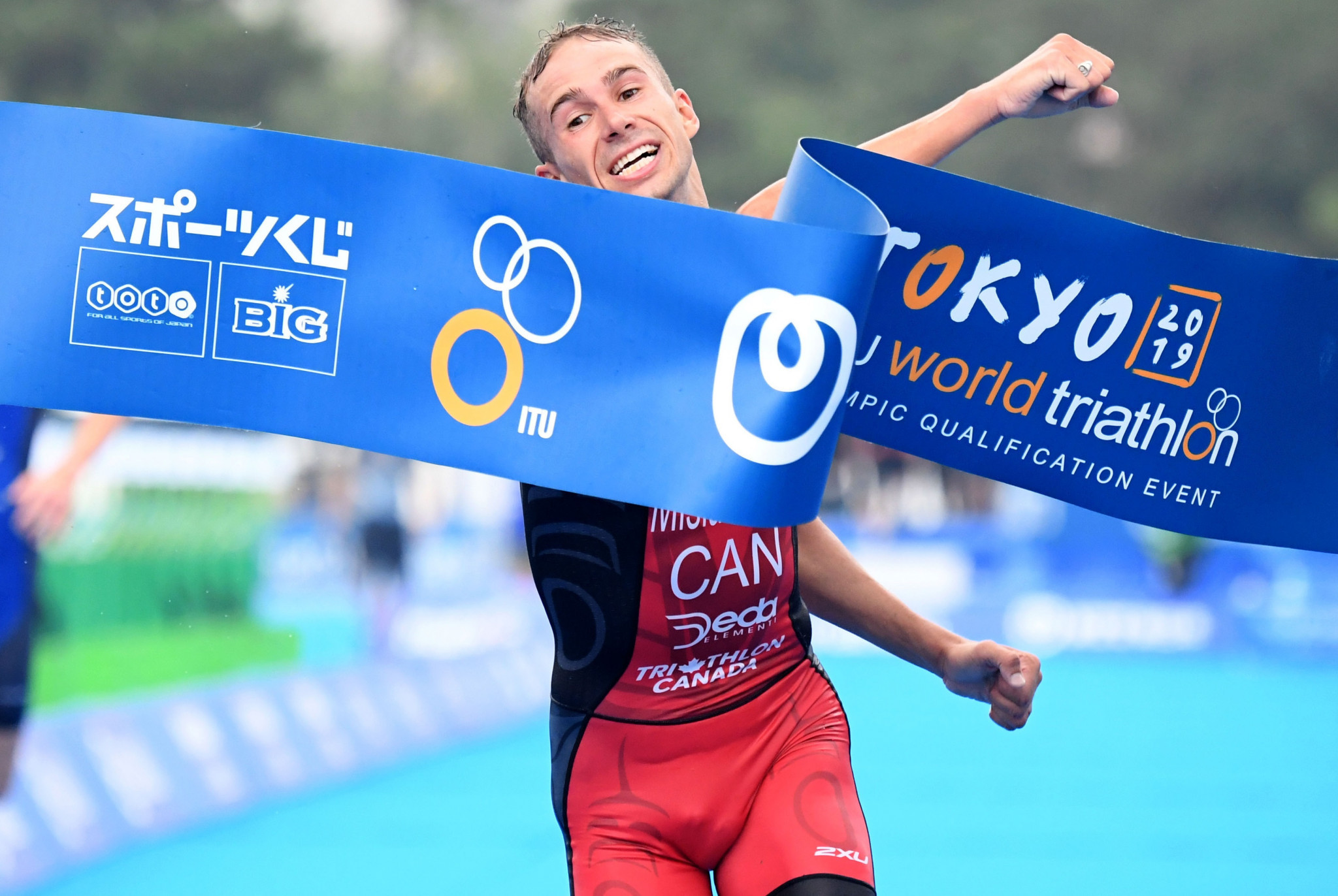 Mislawchuk claims victory at ITU World Olympic qualifier and Tokyo 2020 test event