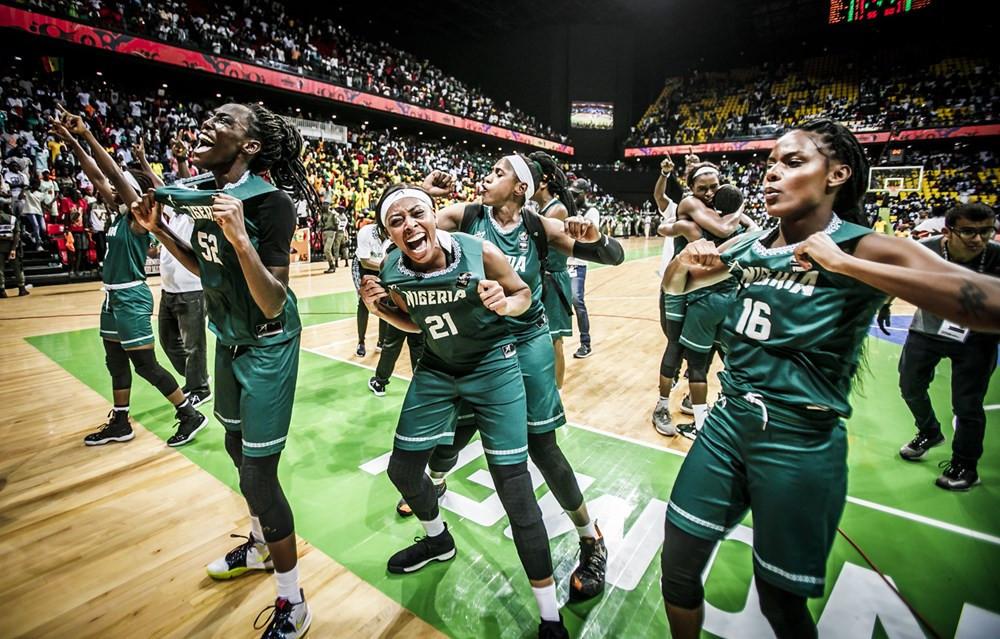 Nigeria's women's basketball team has seen a sharp rise in the rankings ©FIBA