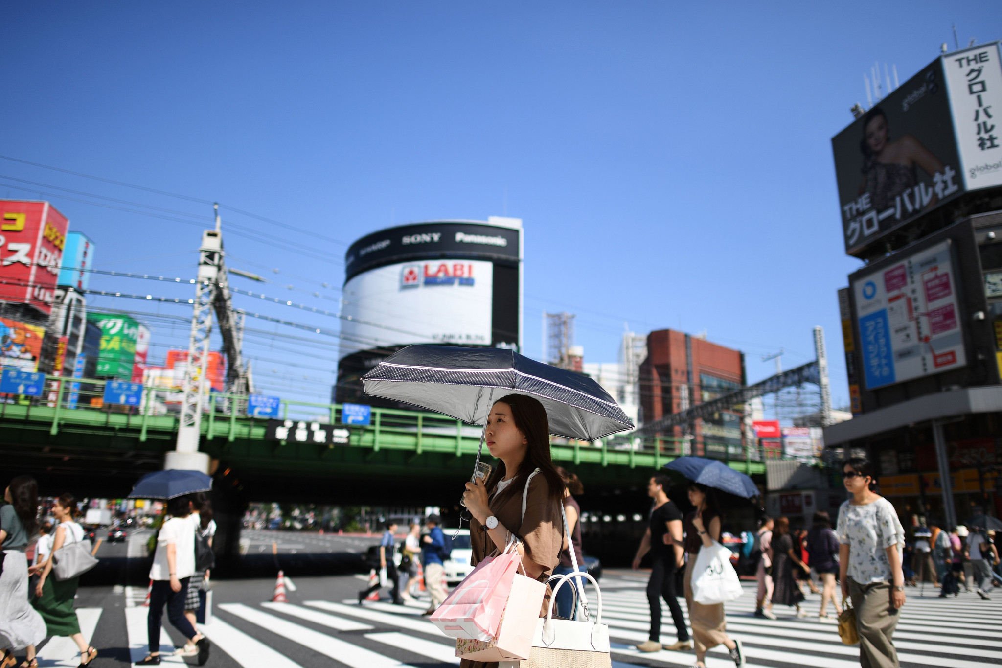 The high temperatures in Tokyo were discussed at the Seminar ©Getty Images