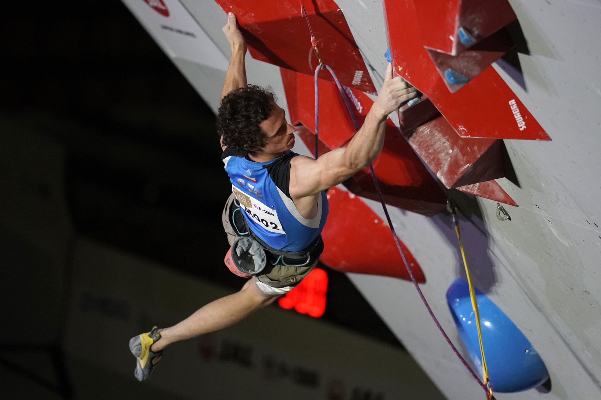 Adam Ondra from the Czech Republic is expected to compete in the Rock Master Duel in Arco ©Getty Images
