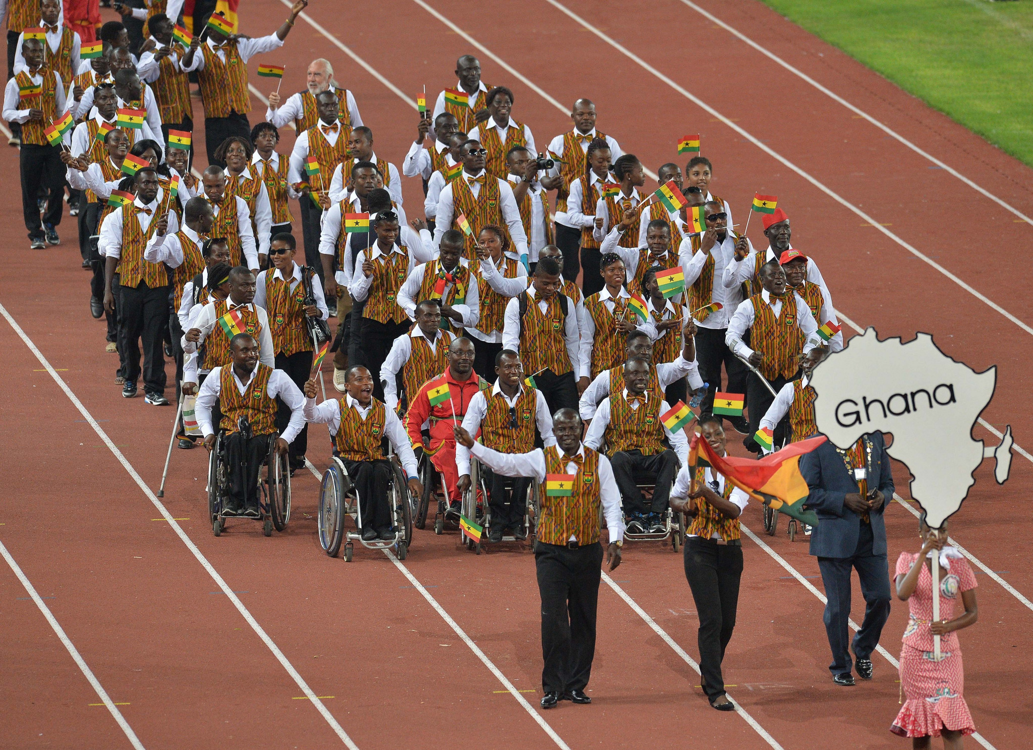 Ghana is among the countries represented at the 2019 African Games in Morocco's capital Rabat ©Getty Images