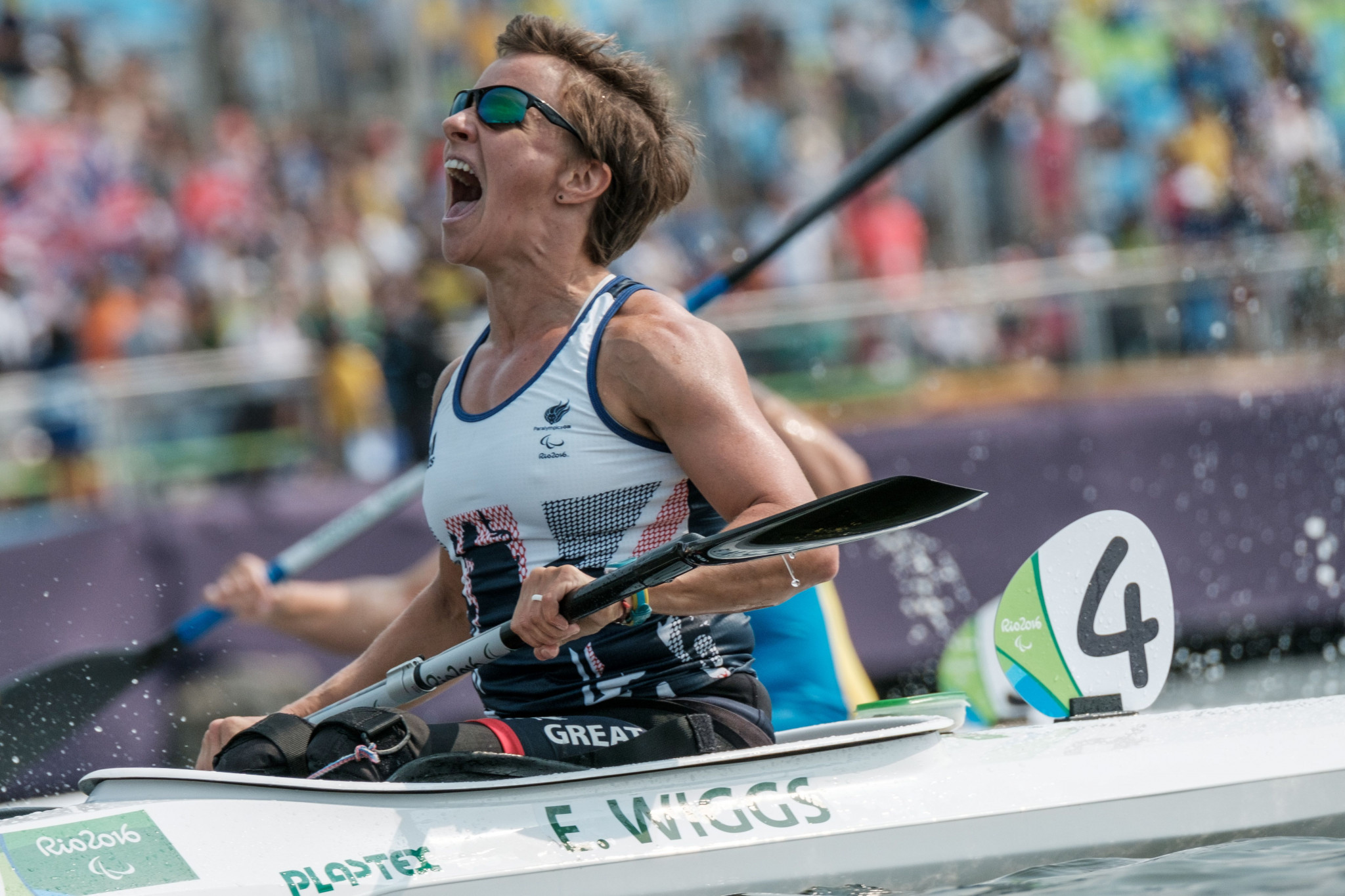 Wiggs and McGrath defend VL2 and VL3 titles at ICF Paracanoe World Championships