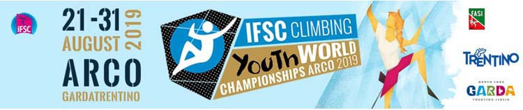 Action begun today at the IFSC Youth World Championships in Arco in Italy ©IFSC