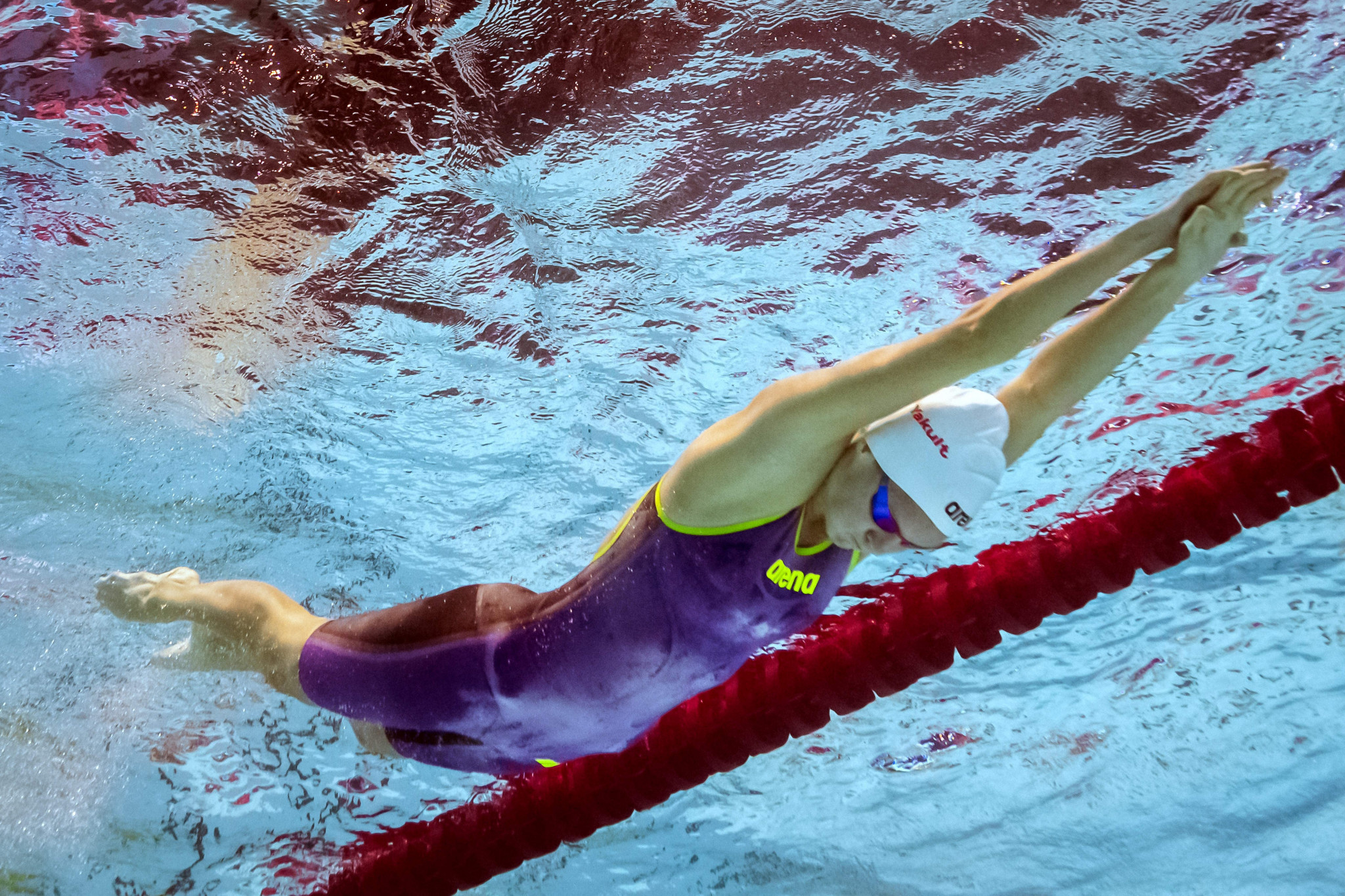 Swimmer Corbett claims second gold with 100m breaststroke triumph at African Games