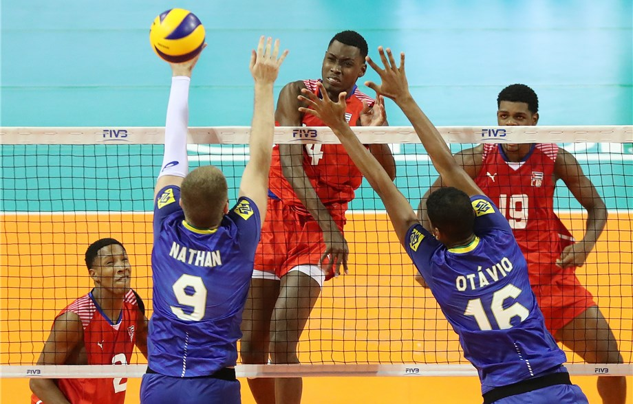 Cuba won their second straight match at the tournament ©FIVB