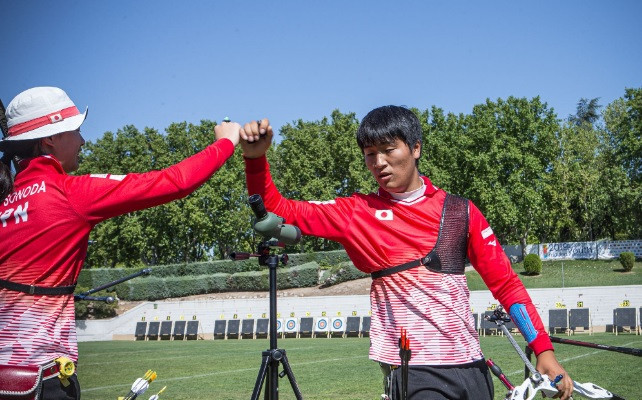 South Korea and Japan reach men's junior recurve team final at World Archery Youth Championships