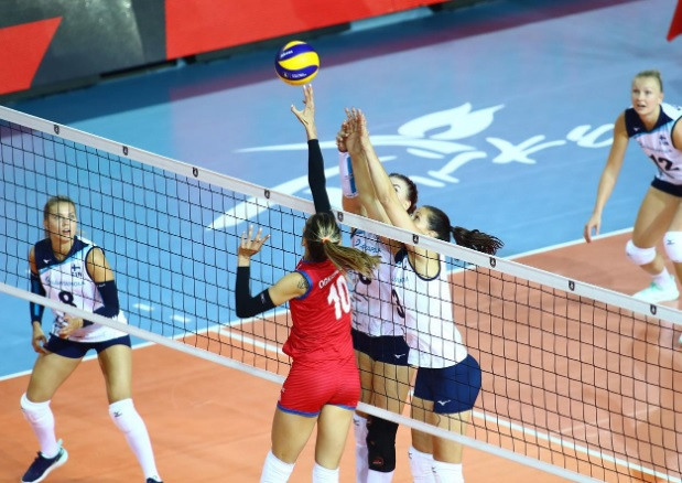 Serbia ease to victory over Finland at Women's European Volleyball Championship