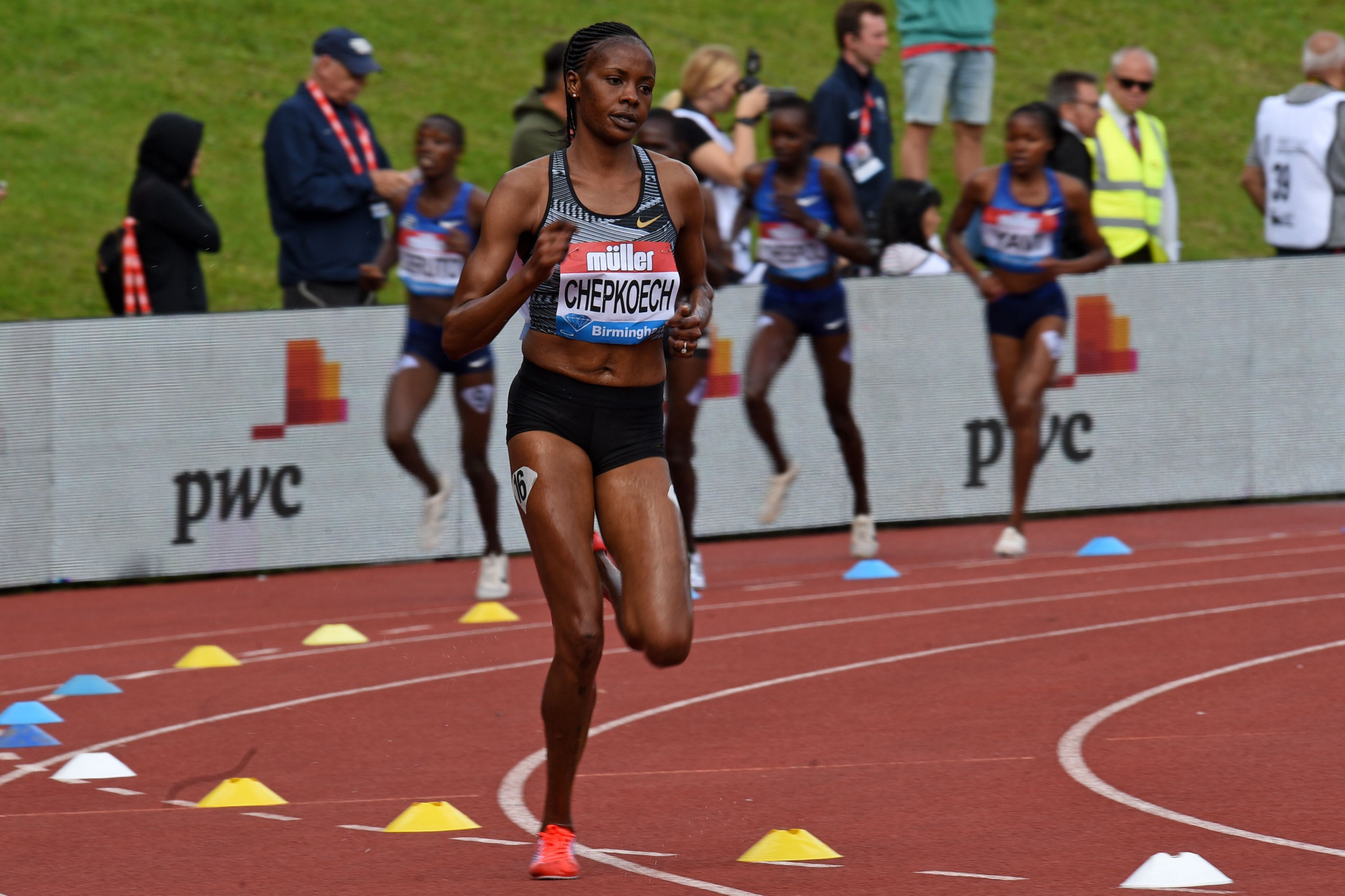 Beatrice Chepkoech, world record holder in the women's 3,000 metres steeplechase, will not race at the African Games ©Getty Images
