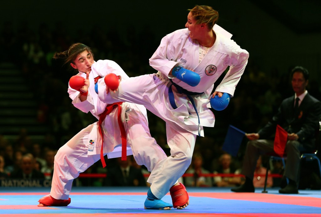 World Karate Federation announces qualified athletes for Baku 2015 European Games