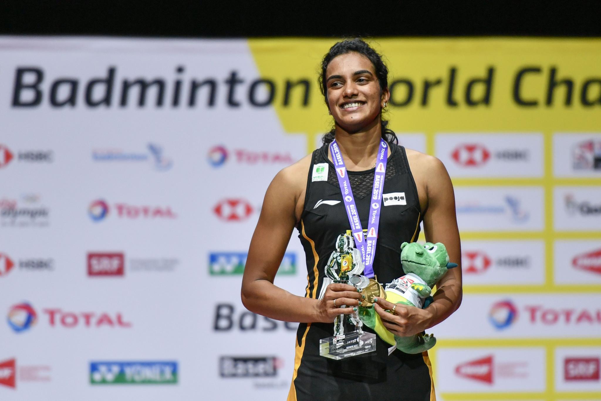 Sindhu ends title wait at BWF World Championships as Momota triumphs again