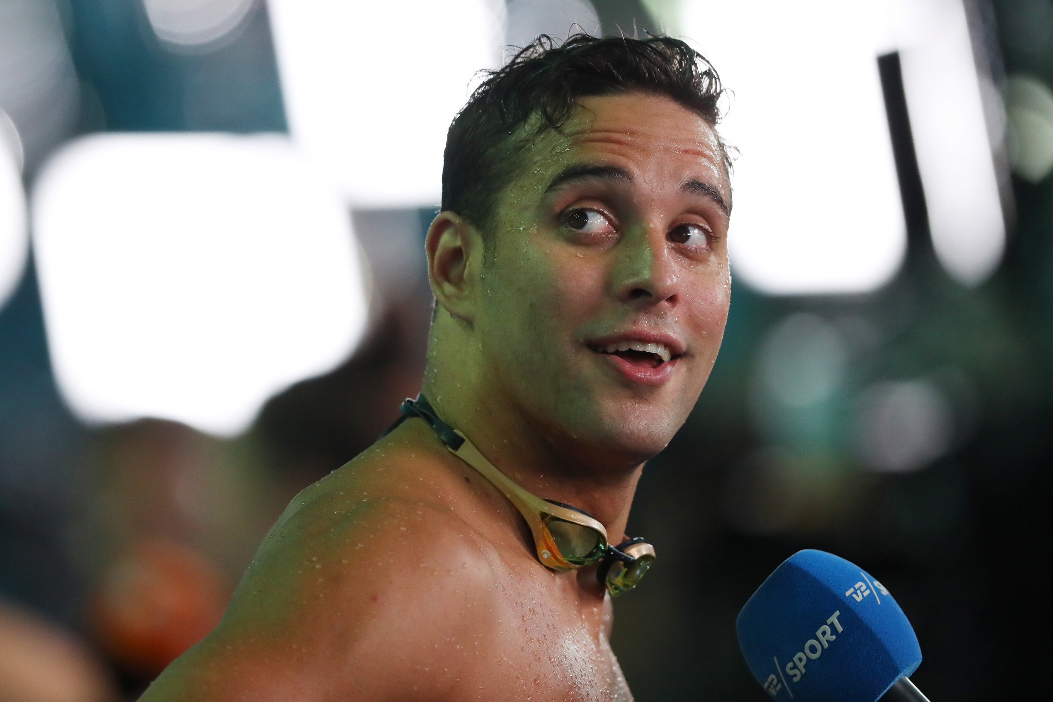 South Africa's squad in Morocco lacked its big names such as Chad le Clos ©Getty Images