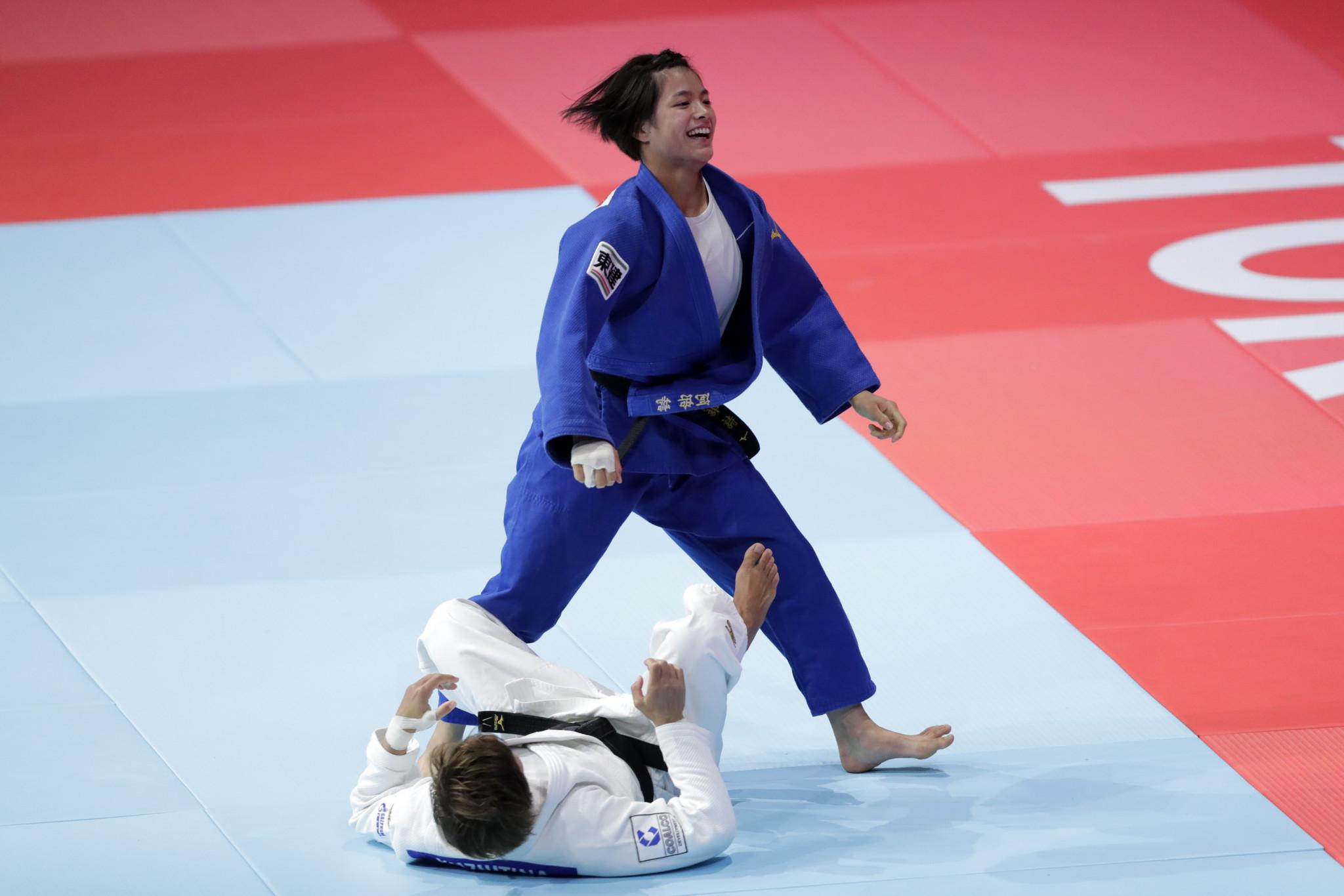 Mixed night for Abe family at IJF World Championships as Uta wins gold but Hifumi falls short