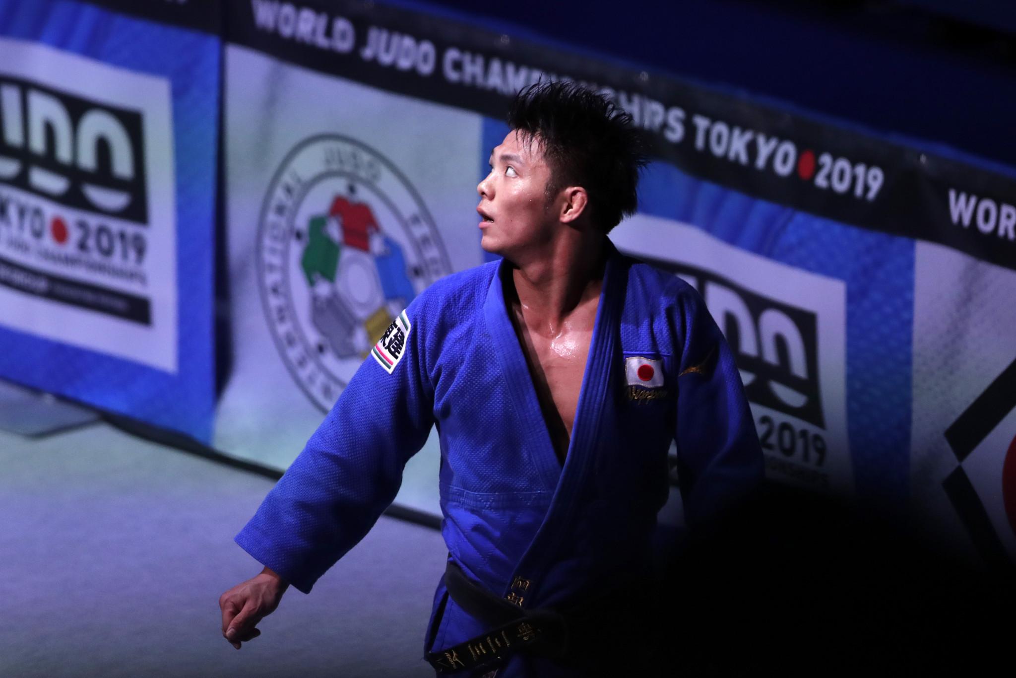 Hifumi Abe suffered defeat to compatriot Joshiro Maruyama in the semi final at Nippon Budokan ©Getty Images
