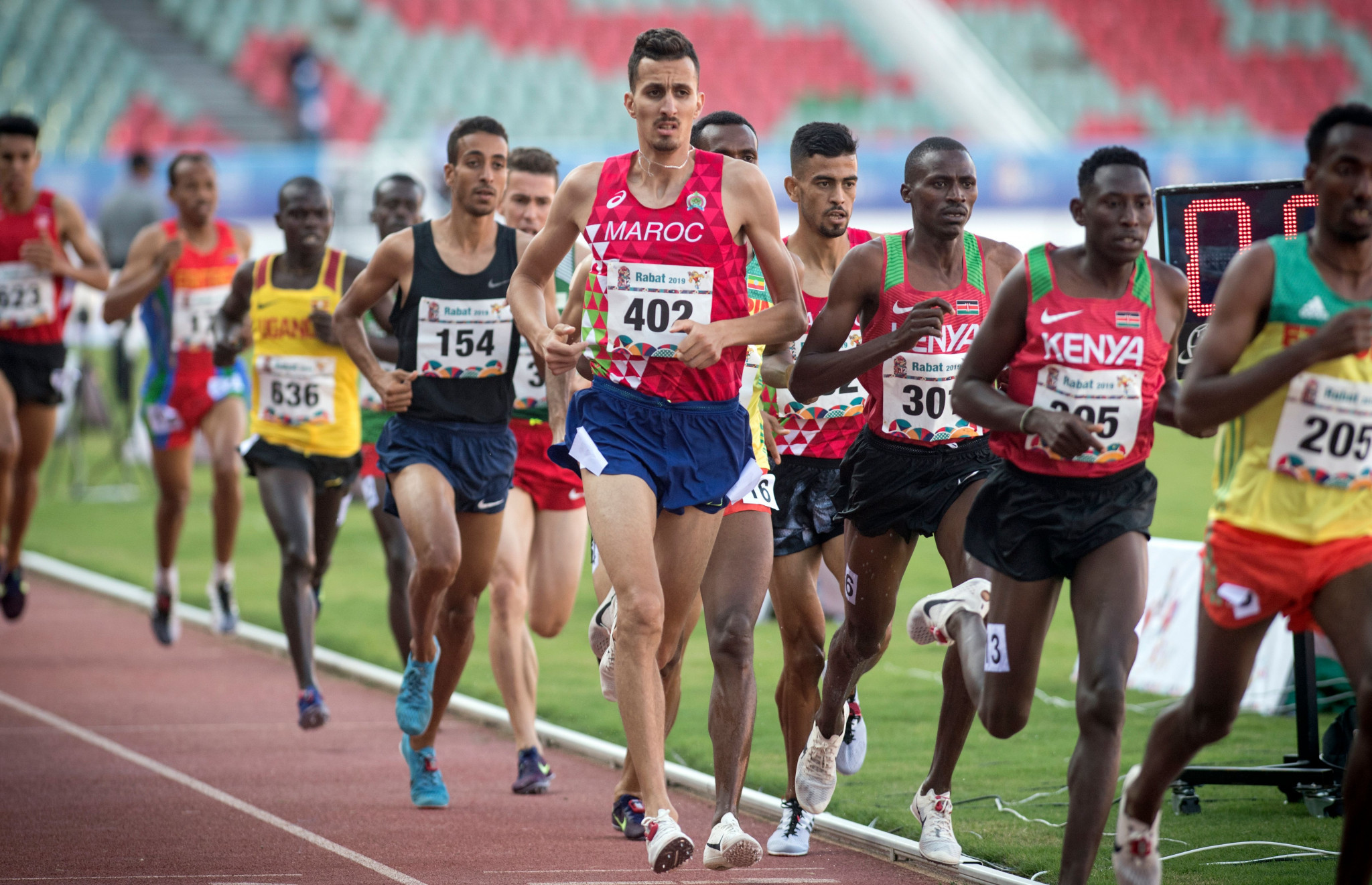 Morocco's Soufiane El Bakkali finished with the bronze medal in the men's 3000m steeplechase at the African Games ©Getty Images