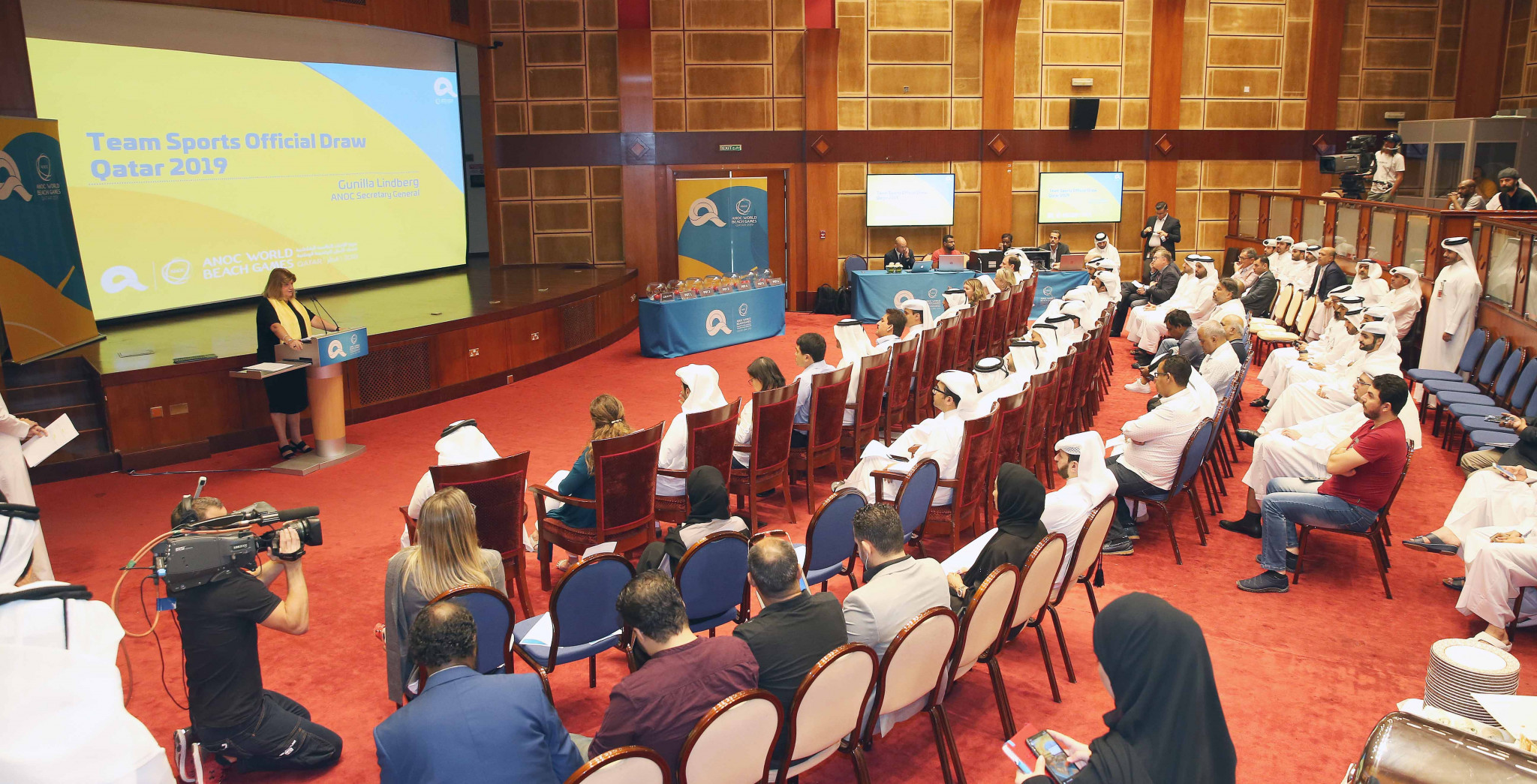 ANOC World Beach Games team sports draw takes place in Doha
