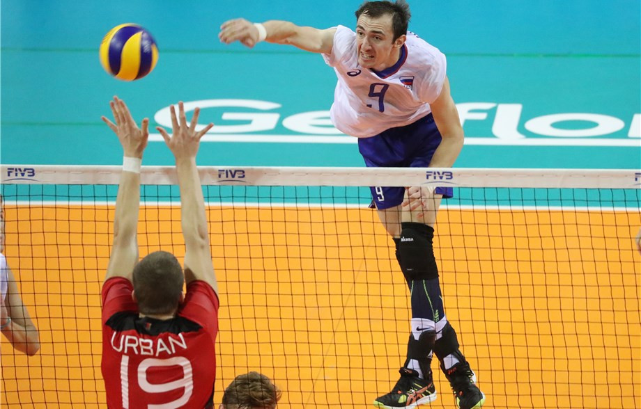 Russia will meet Iran in the last eight in a repeat of the last final ©FIVB