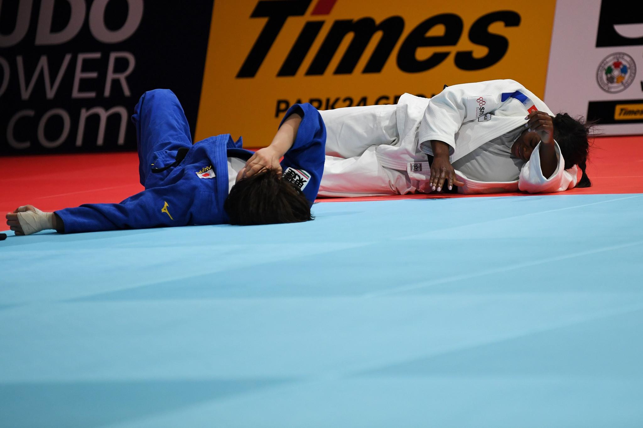 Agbegnenou wins fourth World Judo Championships gold after sensational final