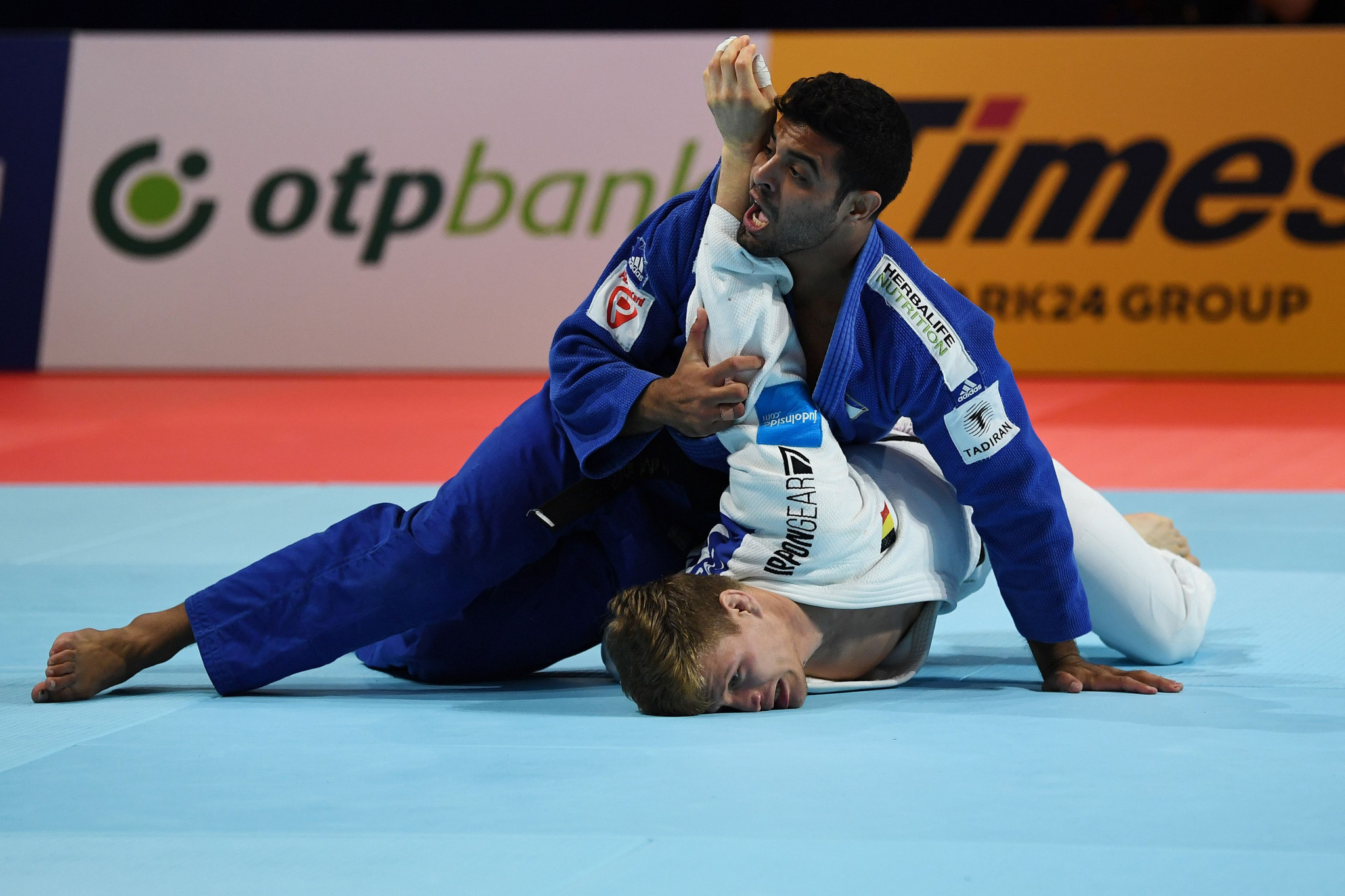 Sagi Muki won his first world title in the men's under-81kg category ©Getty Images