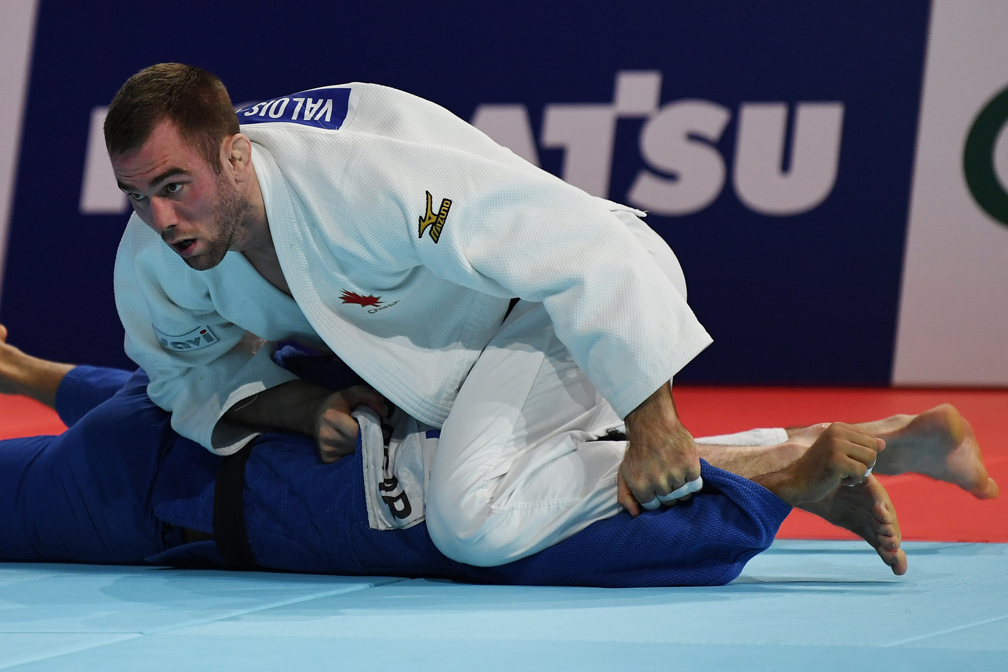 World number 12 Antoine Valois-Fortier won a bronze medal for Canada ©Getty Images