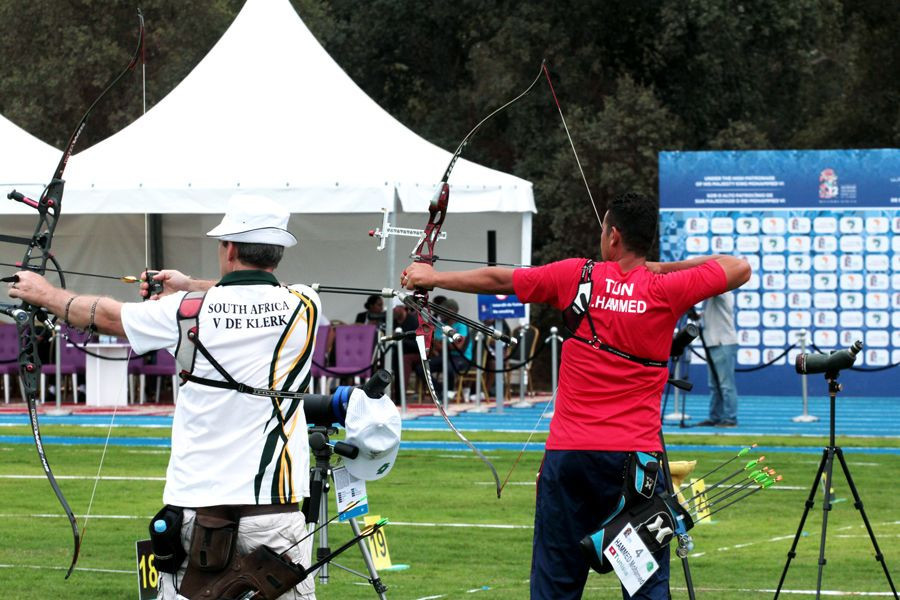 Tunisia's Mohamed Hammed finished second in the men's individual recurve event ©World Archery
