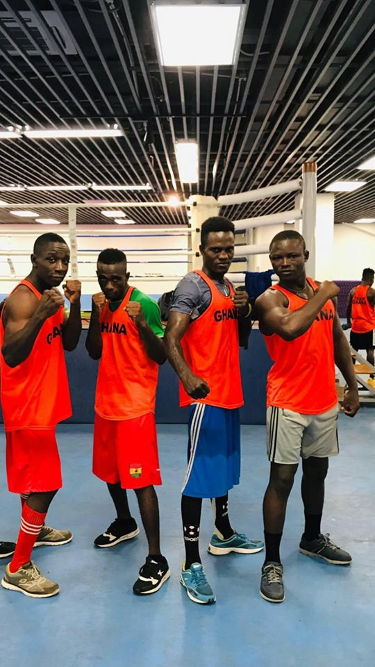 Ghana won one bronze medal in boxing at the 2019 African Games ©GOC