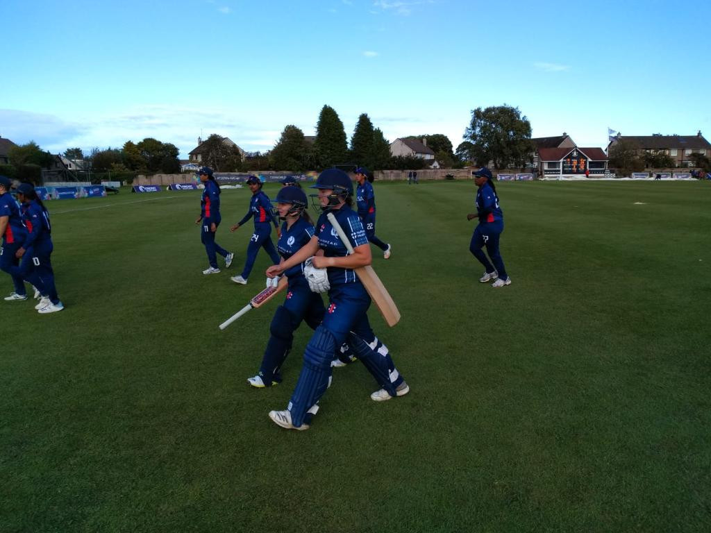 Scotland make winning start on rain-affected day at ICC Women's T20 World Cup Qualifier