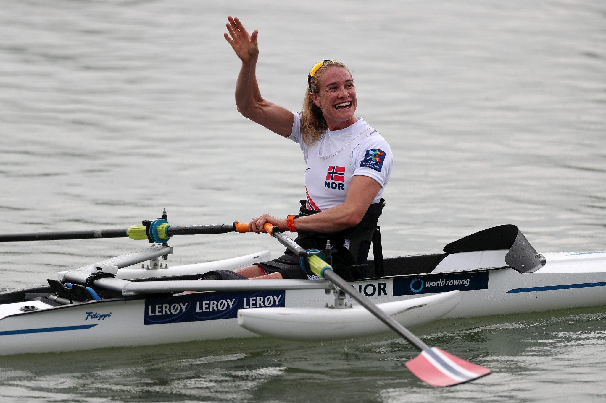 Polianskyi and Skarstein claim PR1 single sculls titles at World Rowing Championships