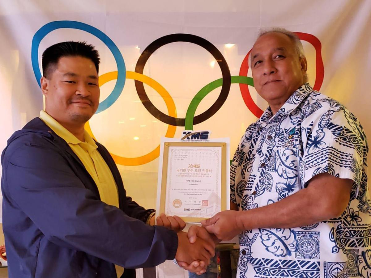 Guam Taekwondo Federation recognised for outstanding Pacific Games performance